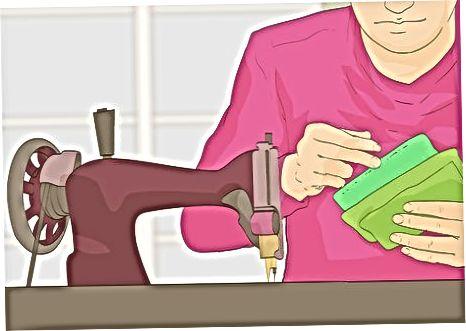 販売する衣類の小さなバッチを作る