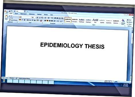Epidemiologiya darajasiga erishish