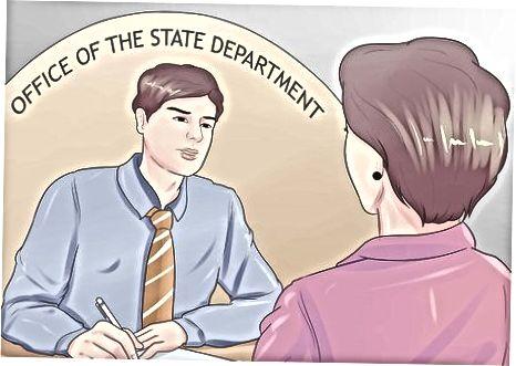 Tražiti položaj službenika za inozemne službe (FSO)