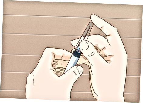 Uvlačenje lijeka u štrcaljku