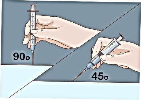 Davanje intravenske (IV) injekcije