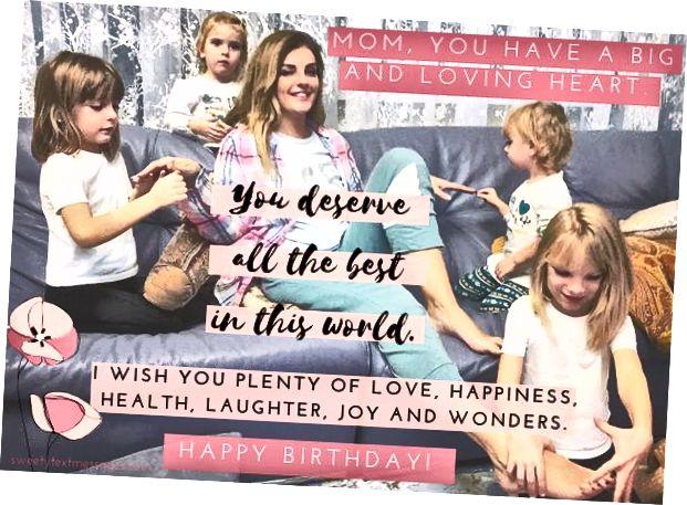 عيد ميلاد سعيد جيد أتمنى لأمي من ابنته
