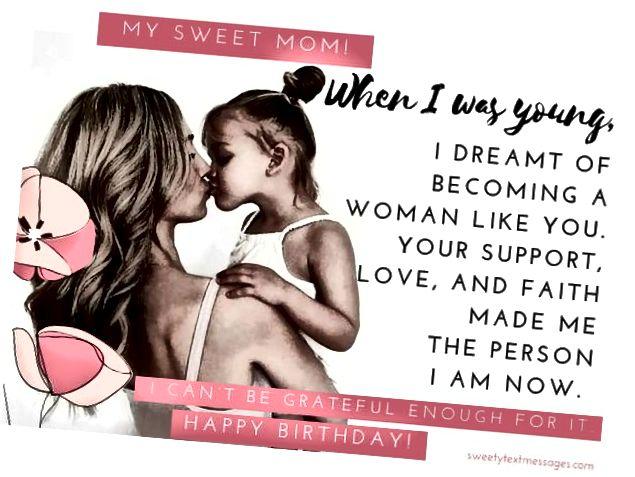 طريقة لطيفة أتمنى أمك سعيدة بداي