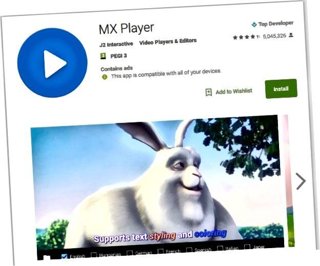 Cinque eccellenti app per la riproduzione di film per Android2