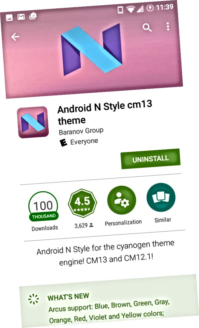 CM13 Android N