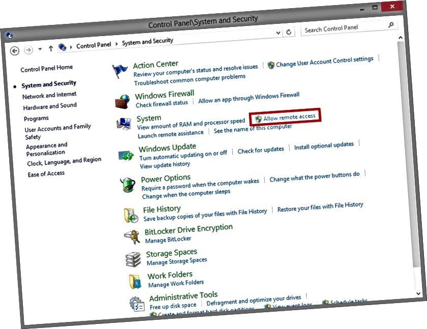 Як уключыць аддалены доступ да працоўнага стала для Windows
