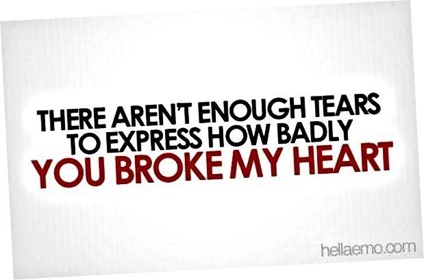 trasigt hjärta citerar 1