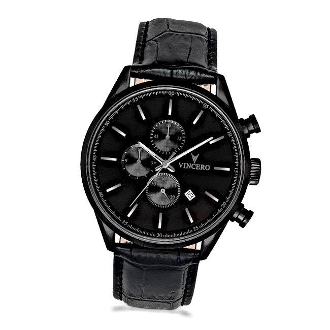 Rokas metālisks pulkstenis viņam vēro 1. gadadienas dāvanas