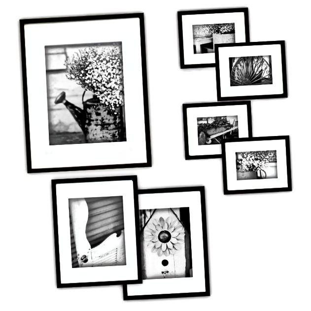 Fotoramme traditionel 1. papir jubilæum gave