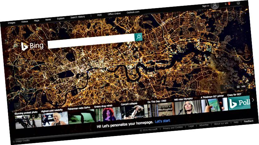 Bing Sichmotor Foto
