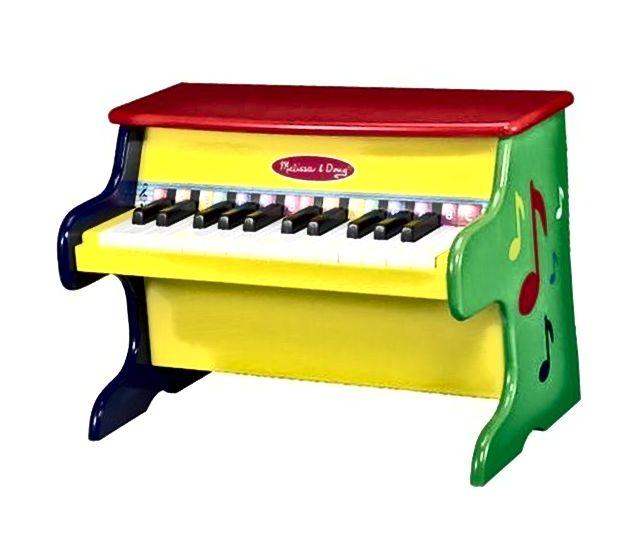 Melissa Doug LearnToPlay klavir s 25 tipki i ColorCoded knjigom pjesama