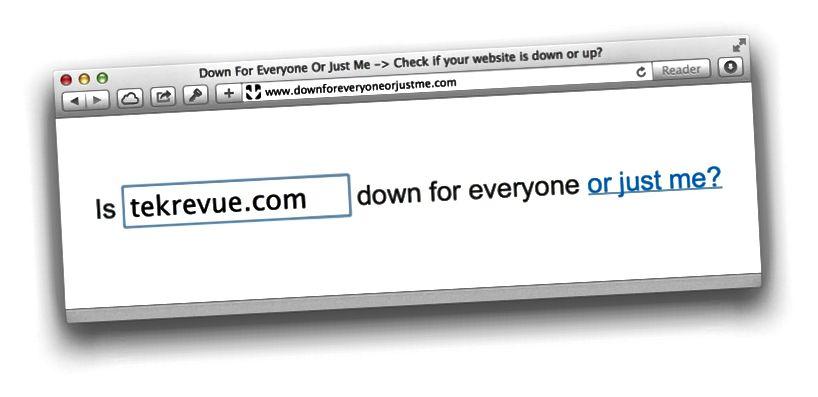 Überprüfen Sie den Status einer Website mit