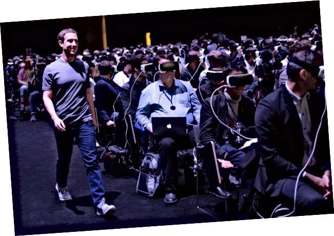 virtuell Realitéit-Gang-vr