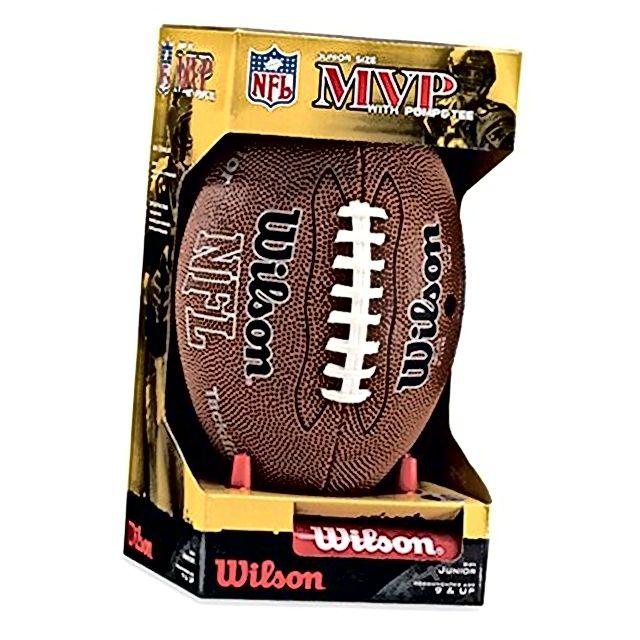Wilson NFL MVP juniorski nogomet s pumpama i nogom