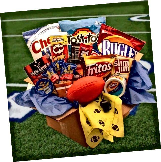Paket za njegu nogometaša s poklon nogometnim poklonima