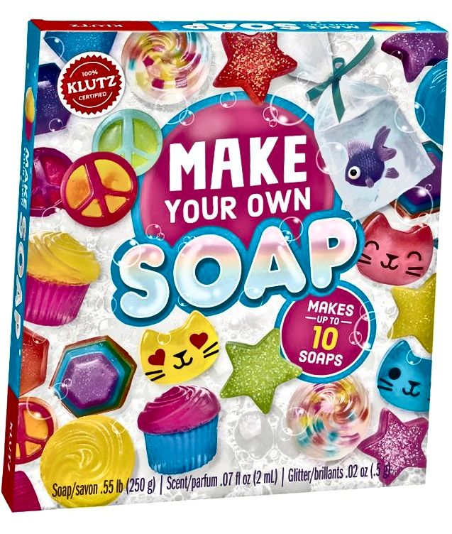 Klutz Napravite vlastiti znanstveni komplet sapuna