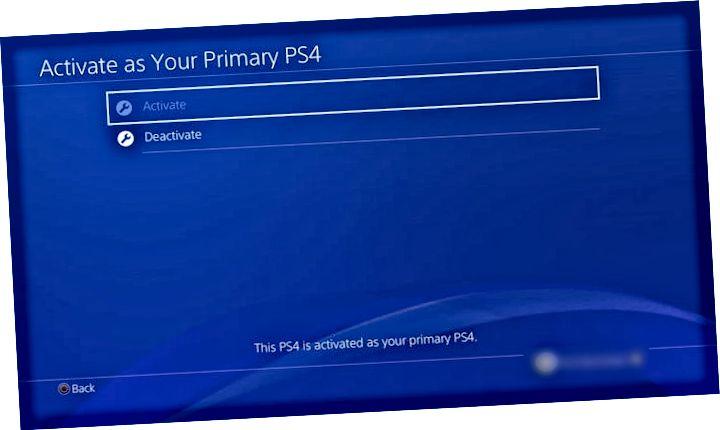 PS4 নিষ্ক্রিয় করুন