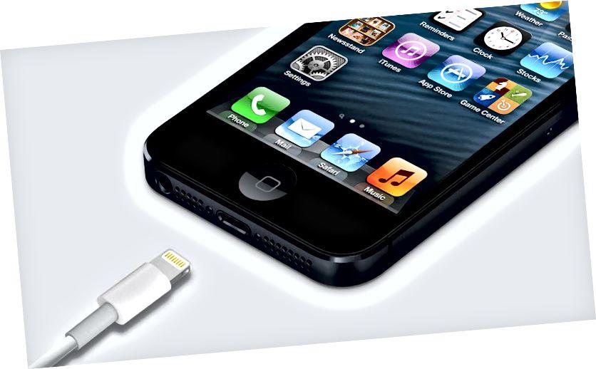 Apple iDevice laadijavahetus