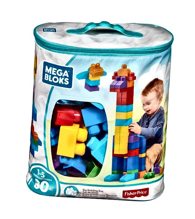 Mega Bloks 80Piece Velika građevinska torba Classic