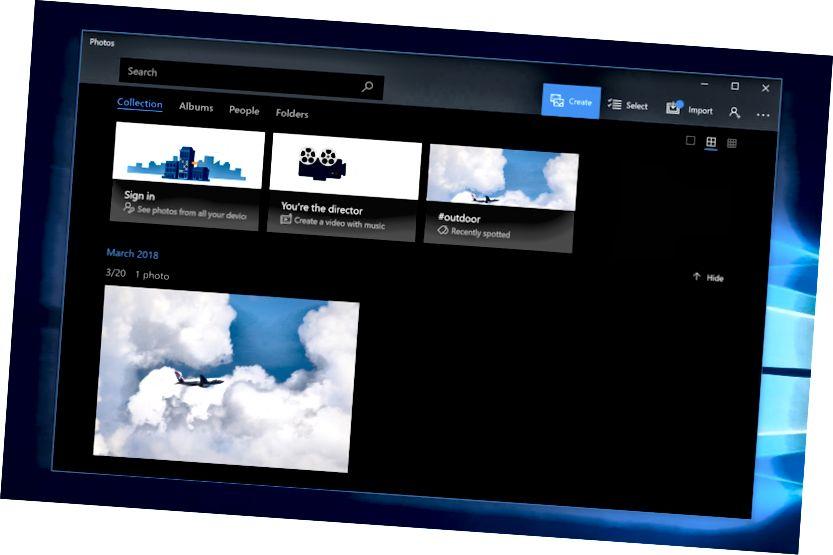 windows 10 φωτογραφίες σκοτεινή λειτουργία