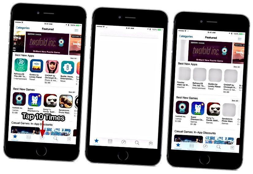 ios App Store Cache zurücksetzen