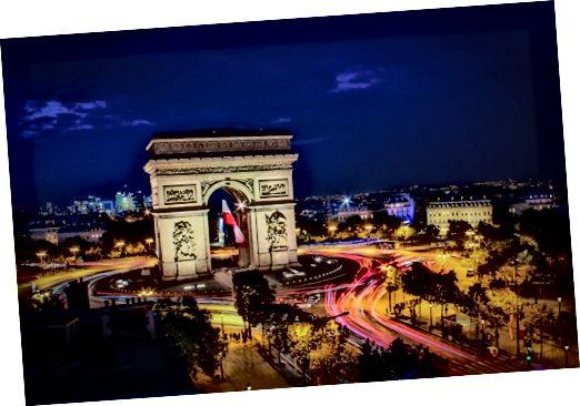 Paris bildtexter för Facebook och Instagram