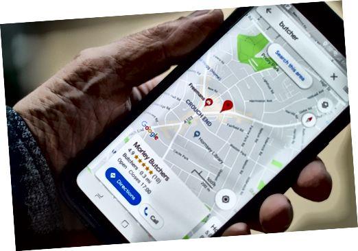 Google žemėlapiai