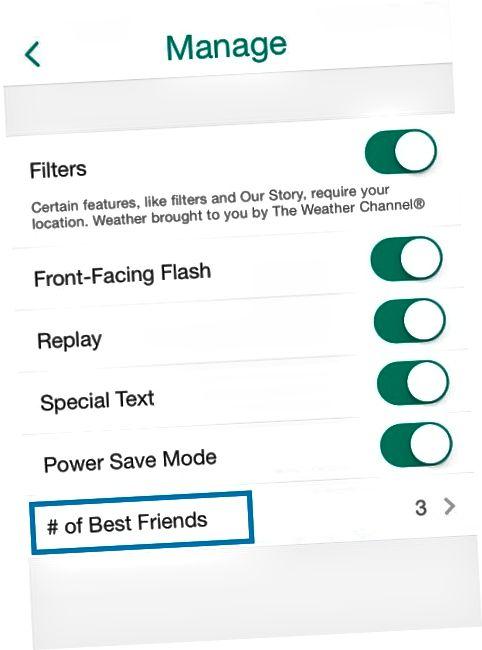 Snapchat savjeti i trikovi