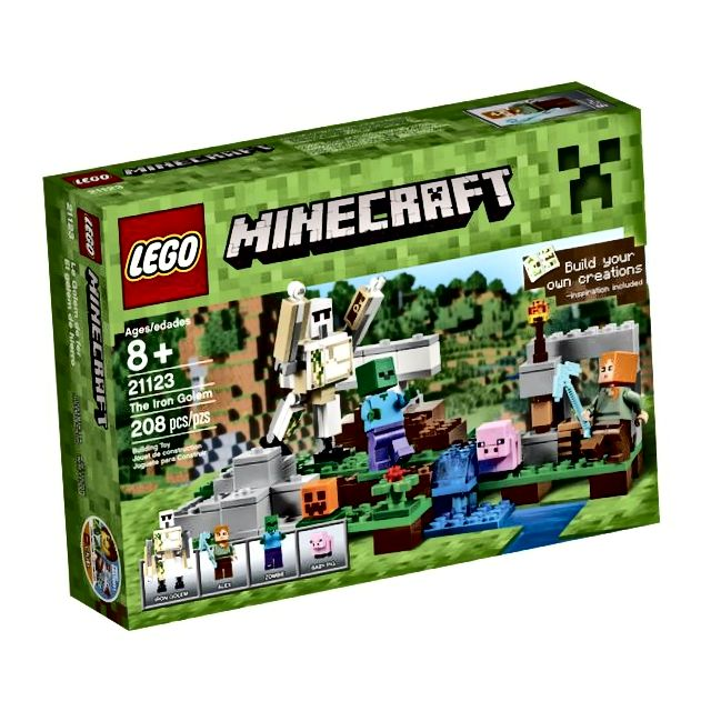 LEGO Minecraft Željezni Golem