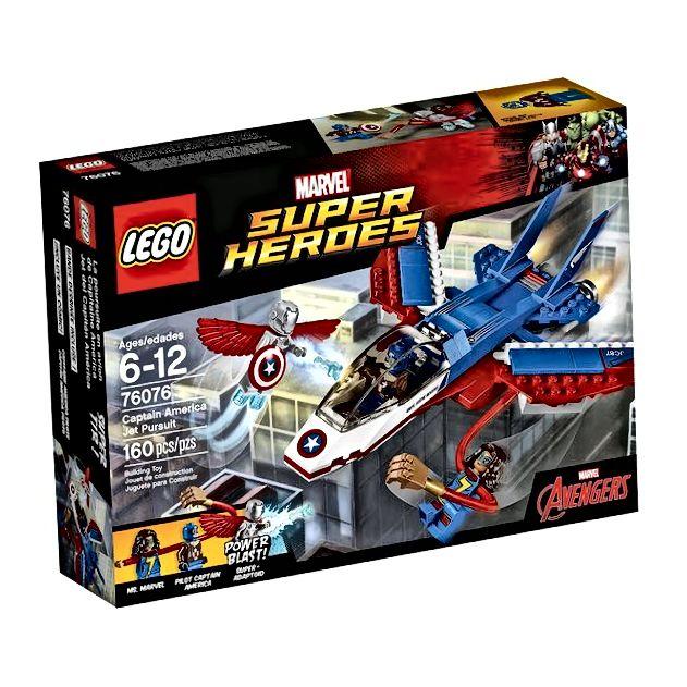LEGO Super Heroes Jet potraga