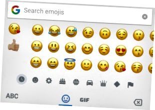 Emoji pretraživanja