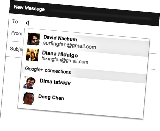 E-post via Google+