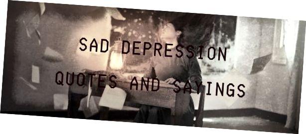 Petikan Dan Pepatah Depresi 2020