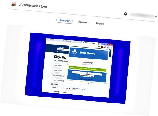 web nany chrome extension review