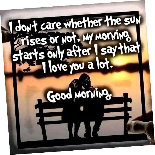 Dobro jutro zajedno