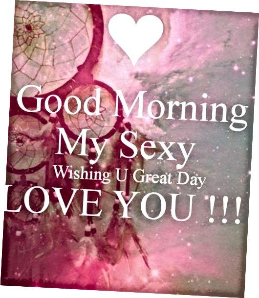 Dobro jutro moja seksi