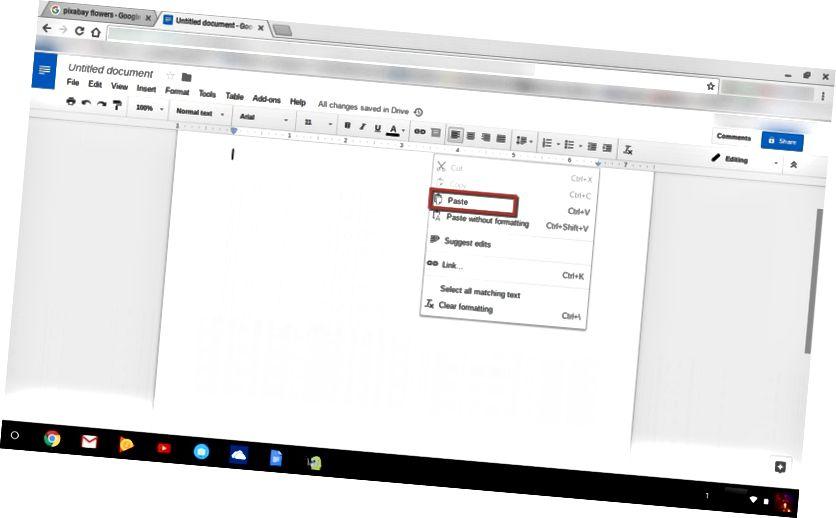 Zalijepite Chromebook za slike