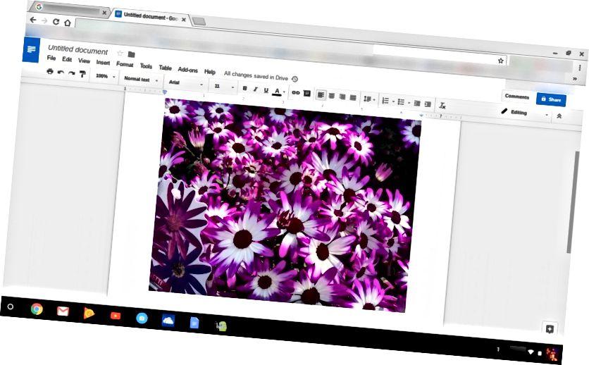 Zalijepljeni Chromebook za slike