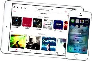 iOS 7 الميزات
