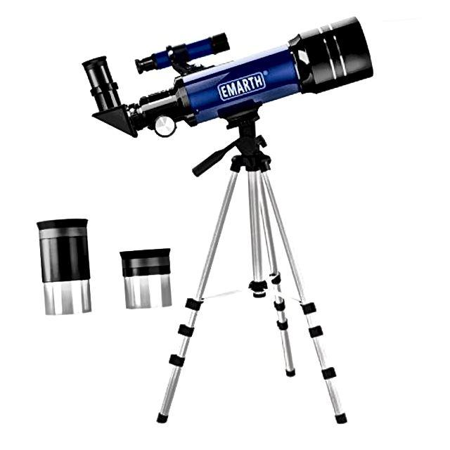 70 mm astronomski reflektorski teleskop sa stativom i tragom