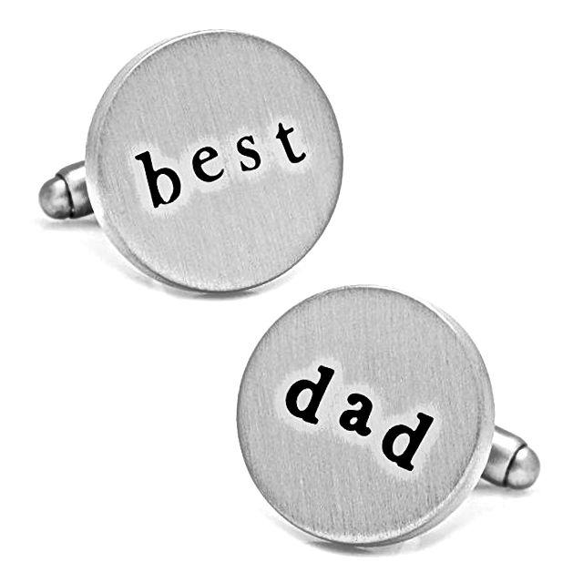 Srebrne najbolje tatice za manžete