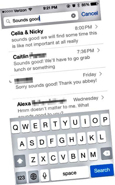 search-meddelanden-on-iphone