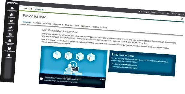 أفضل ماك الافتراضية VMware مقابل Parallels3