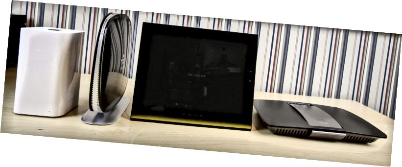 أجهزة توجيه 802.11ac Wi-Fi Apple Netgear Belkin Linksys