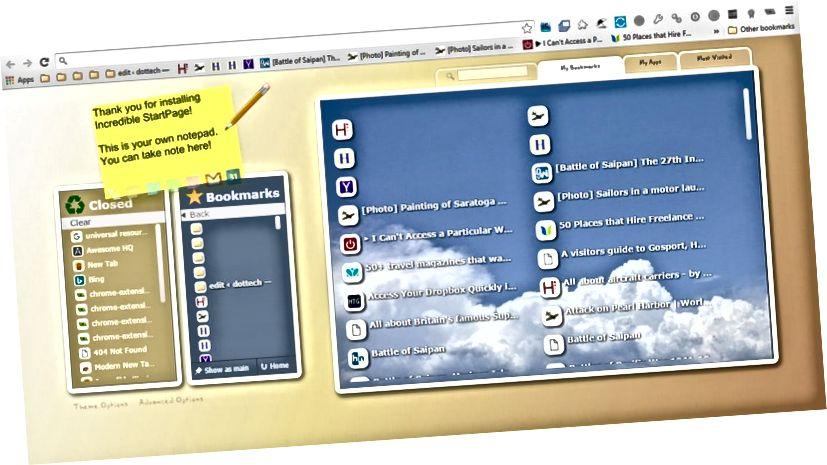 Chrome New Tab1