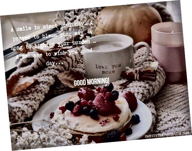 Iznenađujuće duhovne citatnosti dobrog jutra