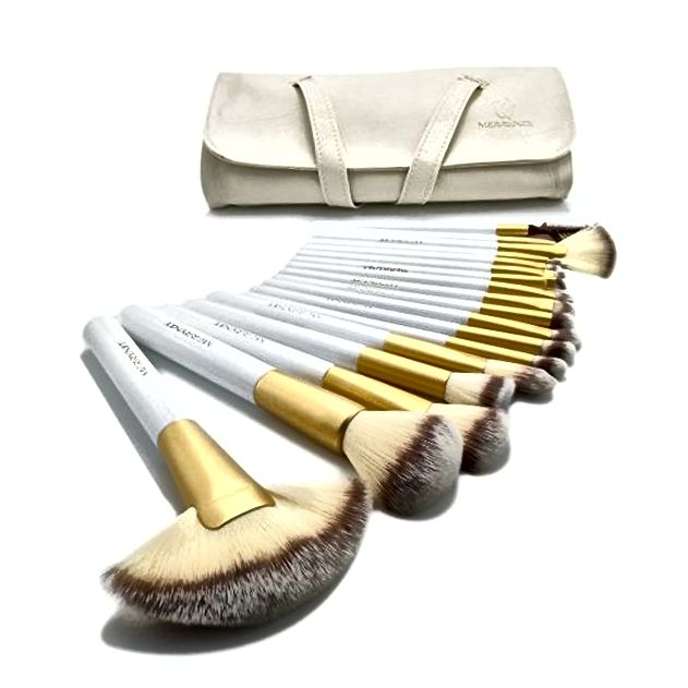 Merrynice 18er Deluxe Make-up Pinsel Set