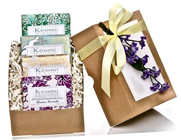 Bio handgemachte Seife Geschenkset