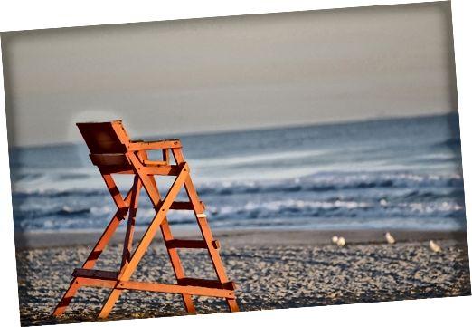 Stranden Bildtexter