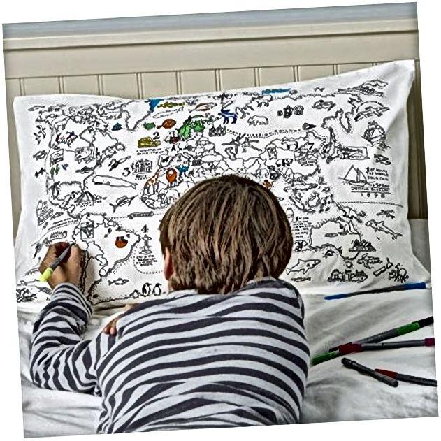 Jastuk za bojenje s 10 tkanina koje se mogu prati